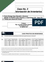 Caso 3 Método Valorizar Inventarios al 280919