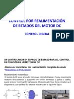 CONTROL POR REALIMENTACIÓN DE ESTADOS DEL MOTOR DC