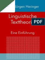 [HJ.Heringer] LinguistischeTexttheorie (2015) (2)