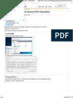 7+Methods+To+Retrieve+The+Version+Of+SAP+Executables