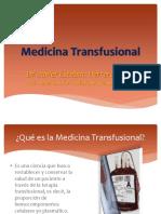 Generalidades de Transfusión