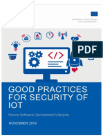 GOOD PRACTICES FOR SECURITY OF IOT