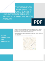AMPLIACION  Y MEJORAMIENTO DE LOS SERVICIOS DE (2)