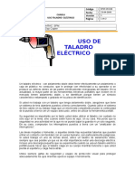 028 Uso Taladro Electrico