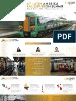 4° Congreso Latinoamericano de Expansión Ferroviaria (en español)