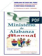 MANUAL DEL MINISTERIO DE ALABANZA.