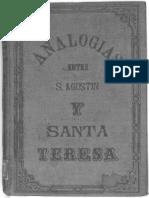 Analogías entre San Agustín y Sta Teresa
