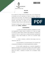 Tribunal de Casación Penal, Sala V. Morigeración. Restablecimiento del arresto domiciliario conforme recomendaciones de la S.C.B.A. respecto a las condiciones de d