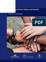 Promoting Common Values and Inclusive