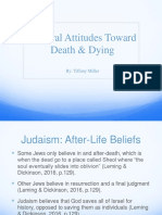 death and dying with different religions