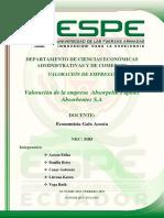 Valoracion_de_la_Empresa_Absorpelsa_S