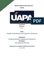 TAREA 9 DE HISTORIA DE LA EDUCACION