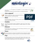 Farmacologia Introducción