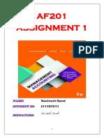 AF201 Assignment 1