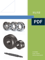 Power Screw Design - Design Embodiment & Material Selection Report (2011/2012)