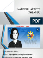NATIONAL ARTISTS (THEATER)