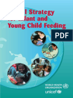 Global Strategy for Infant and Young Children Feeding