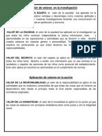 Aplicación de valores  en la investigación.docx
