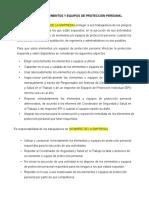 POLÍTICA DE ELEMENTOS Y EQUIPOS DE PROTECCIÓN PERSONAL.doc