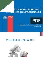 PPT Vigilancia en Salud y Exámenes Ocupacionales