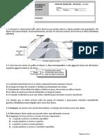 Ficha de trabalho 5 -  Evolucionismo e taxonomia