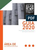 Guía Unam Área 3 2020