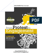 """Imam Suhaib Webb on """"From Protest to Engagement"""""""