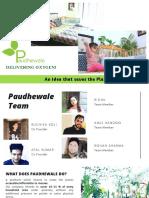 Presentation_Paudhewale
