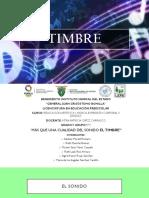 6 cualidades del sonido timbre