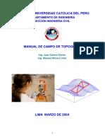 Manual de campo topografía