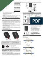 Connects 2 Pro 4 cuatro 1000 W 4AWG medidor de potencia tierra RCA amplificador Kit de cableado