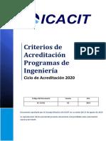 2020 Icacit Cai Criterios