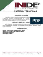 APUNTES DERECHO NOTARIAL Y REGISTRAL I..doc