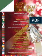 GIC Christmas 2010 - Poster