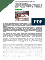 POLÍTICAS EDUCATIVAS DEL SISTEMA GUATEMALTECO