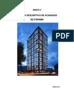 Anexo de Acabados - SQ PANAMA -  Abril 2019