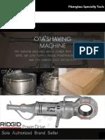 OTA Fiberglass Pipe Shaver 2020