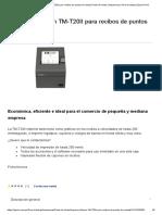 Epson T Impresora 20