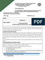 COSTO DE VENTA Y CLASIFICACION DE COSTOS FIJOS Y VARIABLES
