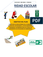 Afiche plan de seguridad