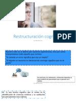 RESTRUCTURACION COGNITIVA-PROGRAMACION