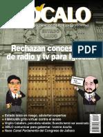 Zocalo 231 mayo 2019 -Rechazan concesiones de radio y tv para Iglesias-