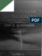 Trovejar Do Silêncio - Joel Goldsmith