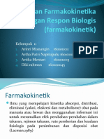 Hubungan Farmakokinetika dengan Respon Biologis