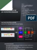 Arquitectura y funcionamiento de un microprocesador