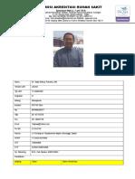 CV - Dr.Tedjo W Putranto,MM