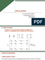 Slide_Chap ter1_Chapter 2. Matrix Algebra