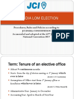 LOM Elections Guide