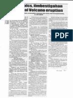 Balita, Jan. 16, 2020, Phivolcs, iimbestigahan sa Taal Volcano eruption.pdf