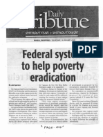 Daily Tribune, Jan. 16, 2020, Federal system to help poverty eradication.pdf